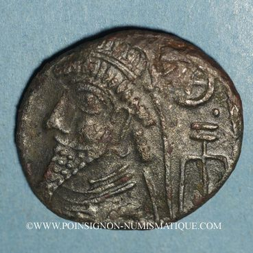 Monnaies Royaume d'Elymaïde. Dynastie Arsacide (vers 25 av. J-C - 228). Roi incertain. Tétradrachme, Séleucie