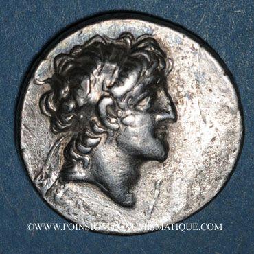 Monnaies Royaume de Cappadoce. Ariarathes VI Epiphane Philopator (130-115 av. J-C). Drachme, an 10