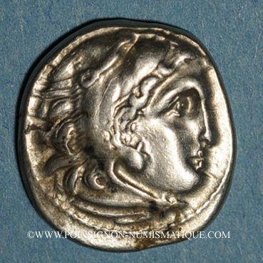 Monnaies Royaume de Macédoine. Philippe III l'Aridée (323-316 av. J-C). Drachme, Colophon, 323-319 av. J-C
