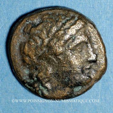 Monnaies Royaume de Syrie. Séleucus I Nicator (312-280 av. J-C). Bronze. Antioche, vers 360-281