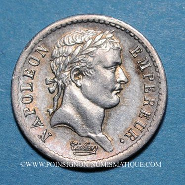 Monnaies 1er empire (1804-1814). 1/2 franc EMPIRE 1813A