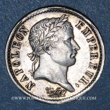 Monnaies 1er empire (1804-1814). 1/4 franc EMPIRE 1808A