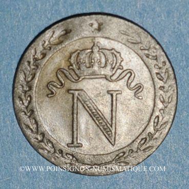 Monnaies 1er empire (1804-1814). 10 centimes 1810Q. Perpignan
