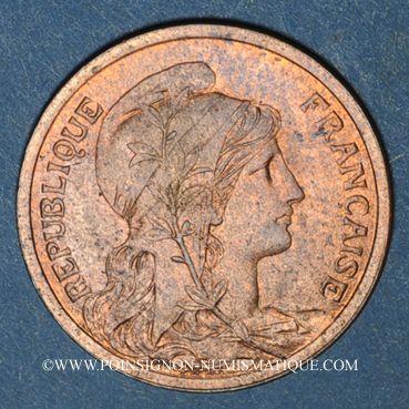 Monnaies 3e république (1870-1940). 2 centimes Dupuis, 1914