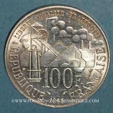 Monnaies 5e république (1959- ). 100 francs 1985 Germinal