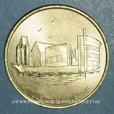 Monnaies Euro des Villes. La Flèche (72). 1 euro 1998