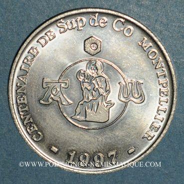 Monnaies Euro des Villes. Montpellier (34). 1,5 euro 1997