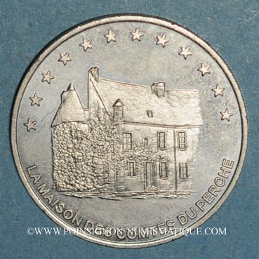 Monnaies Euro des Villes. Mortagne-au-Perche (61). 3 euro 1996