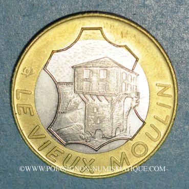 Monnaies Euros des Villes. Millau (12). 2 euro 1997