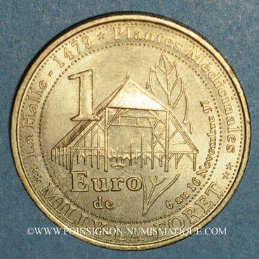 Monnaies Euros des Villes. Milly-la-Forêt (91). 1 euro 1997