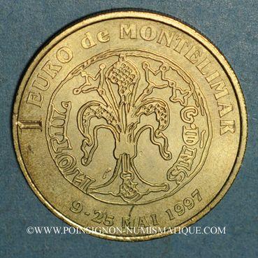 Monnaies Euros des Villes. Montélimar (26). 1 euro 1997