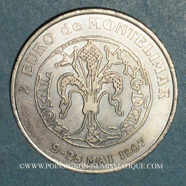 Monnaies Euros des Villes. Montélimar (26). 2 euro 1997