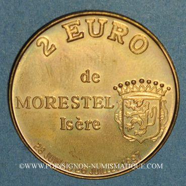 Monnaies Euros des Villes. Morestel (38). 2 euro 1997