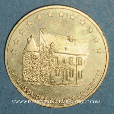 Monnaies Euros des Villes. Mortagne-au-Perche (61). 1 euro 1996