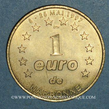 Monnaies Euros des Villes. Narbonne (11). 1 euro 1997