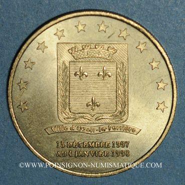 Monnaies Euros des Villes. Ozoir-la-Ferrière (77). 1 euro 1997