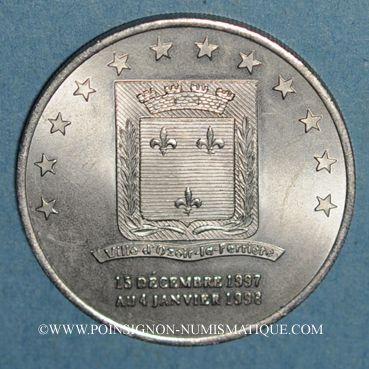Monnaies Euros des Villes. Ozoir-la-Ferrière (77). 2 euro 1997