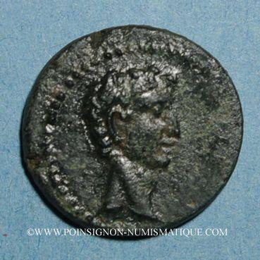 Monnaies Auguste (27 av. - 14 ap. J-C). Bronze. Cyzique (Mysie)