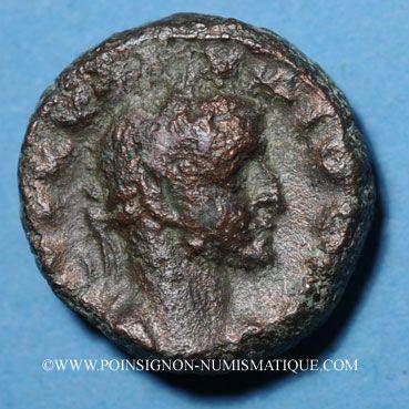 Monnaies Claude II le Gothique (268-270). Tétradrachme, Alexandrie, an 2 (269-270). R/: Dikaiosyne assise à g