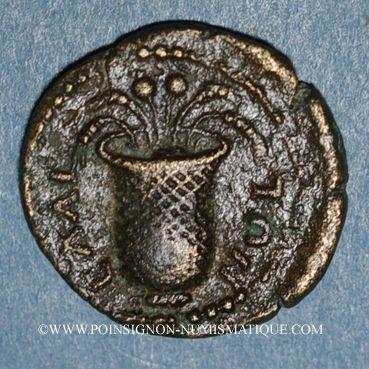 Monnaies Commode, césar (166-177). Bronze. Elée (Eolide)