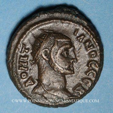 Monnaies Domitius Domitianus (295-296). Octodrachme. Alexandrie, an 2