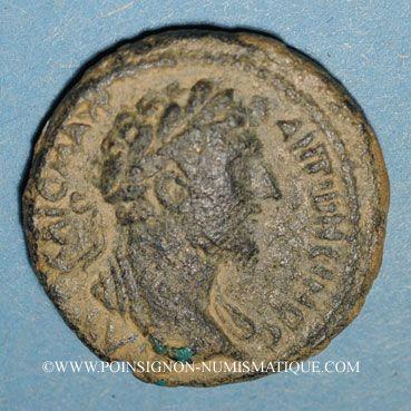 Monnaies Marc Aurèle (161-180). Bronze. Hippos, Décapole (Antioch ad Hippum, Galilée)
