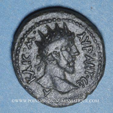 Monnaies Marc Aurèle (161-180). Bronze. Philadelphie (Décapole-Arabie). R ! R !