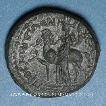 Monnaies Titus (69-81). Bronze. Hippos, Décapole (Antioche ad Hippum, Galilée)