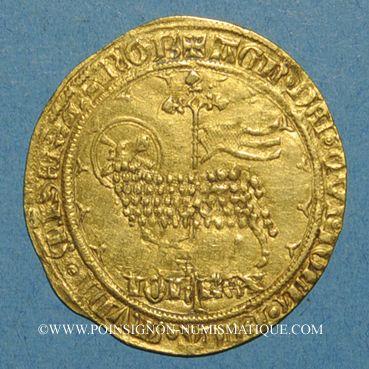 Monnaies Jean le Bon (1350-1364). Mouton d'or (17 janvier 1355)