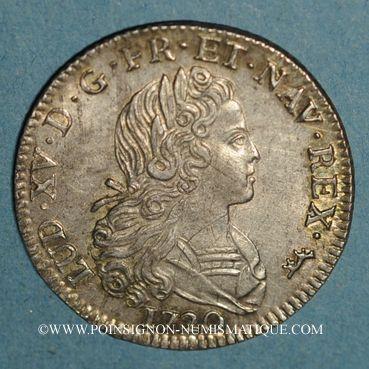 Monnaies Louis XV (1715-1774). Petit louis d'argent 1720A