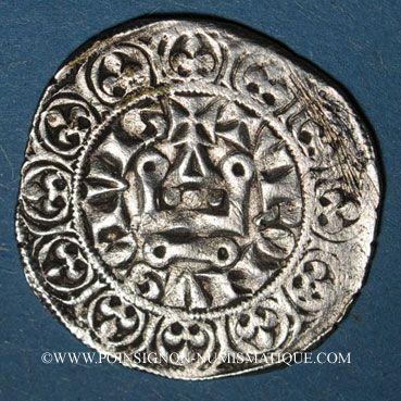 Monnaies Philippe IV le Bel (1285-1314). Maille blanche