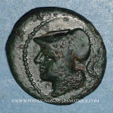 Monnaies République romaine. Monnayage anonyme (273-270 av. J-C). Litra