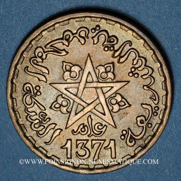 Münzen Alte Französische Kolonien Maroc Mohammed V 1346 1380h 20