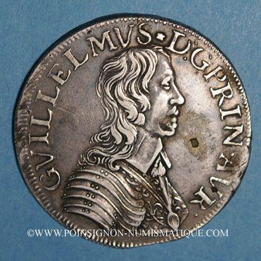 Münzen Principauté d'Orange. Guillaume IX de Nassau (1647-1650). Ecu 1649