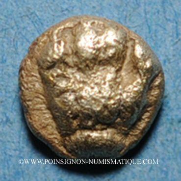 Münzen Carie. Mylasa. 1/48 statère en electrum, 6e s. av. J-C