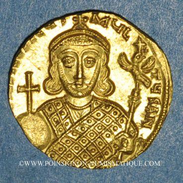 Münzen Empire byzantin. Philippicus Bardanès (711-713). Solidus. Constantinople, 7e officine (711-713)