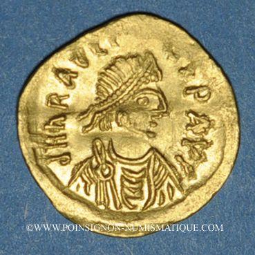 Münzen Héraclius (610-641). Trémissis. Constantinople, 6e officine. 610-613