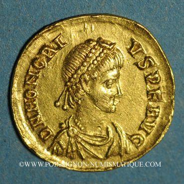 Münzen Honorius (393-423). Tremissis. Constantinople, 408-420