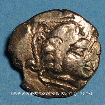 Münzen Pictones (région de Poitiers). Statère, groupe A ; classe A2 var 1b