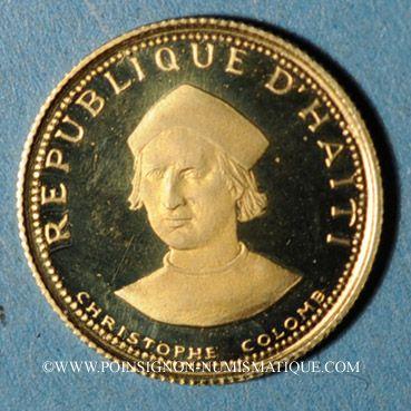 Ausländische Münzen In Gold Haïti République 100 Gourdes 1973 900