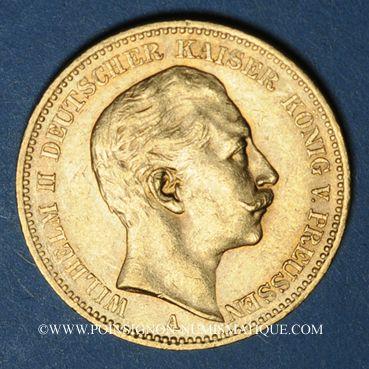 Münzen Prusse. Guillaume II (1888-1918). 20 mark 1895A. (PTL900/1000. 7,96 g)