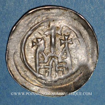 Münzen Alsace. Evêché de Strasbourg. Epoque des Hohenstaufen (1138-1284). Denier. Strasbourg vers 1230-1250