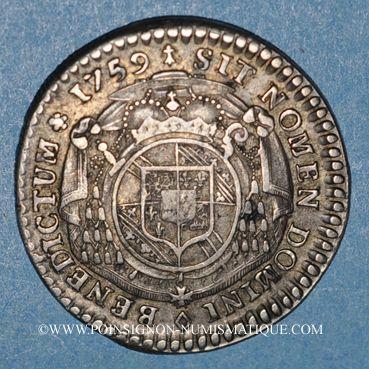 Münzen Elsaß Alsace Strasbourg Evêché Louis Constantin De Rohan