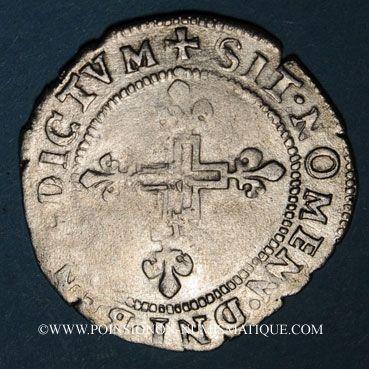Münzen Charles IX (1560-74). Double sol parisis, 1er type, 1571K. Bordeaux