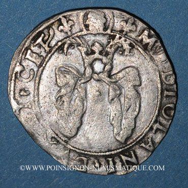 Münzen Louis XII. Monnayage pour Milan (1499-1512). Gros royal de trois sous dit bissone