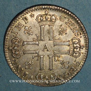 Münzen Louis XV (1715-1774). Petit louis d'argent 1720A