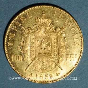 Französische Moderne Gold Münzen 2e Empire 1852 1870 100 Francs