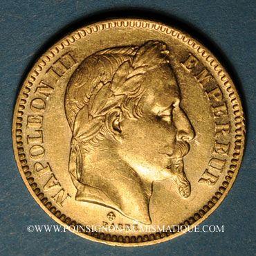 Französische Moderne Gold Münzen 2e Empire 1852 1870 20 Francs