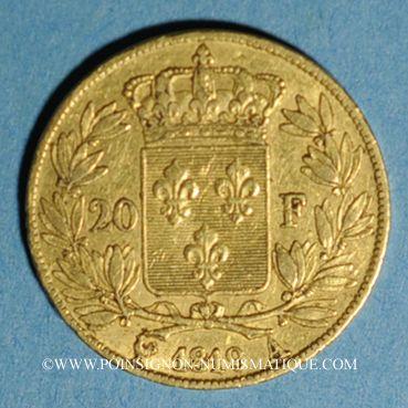 Französische Moderne Gold Münzen 2e Restauration Louis Xviii 1815