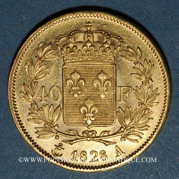 Französische Moderne Gold Münzen Charles X 1824 1830 40 Francs